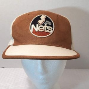 3d22181ac827 NBA Accessories - 90 s Vintage NBA Hardwood Classics Nets Fitted Cap